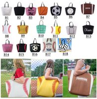feda0fef02 Wholesale baseball tote bags for sale - 18 style Canvas Bag Baseball Tote  Sports Bags Casual Find Similar. 20