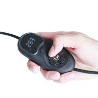hacer vaporizador al por mayor-El tamaño del tamaño de la palma de la garrapata Enail facilita mucho la limpieza del G9 Digital MINI enail Wax Oil Vaporizer Pen con pantalla plana de 10 mm de bobina calefactora HD