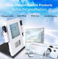 ingrosso attrezzature per la bellezza dell'ossigeno-2018Huan Oxygen Bubble Set di prodotti Essenza Original Liquid Korea Beauty Equipment Prodotti di supporto Whitening Rejuvenation Anti-aging Care