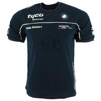 camiseta carrera motocross al por mayor-Camiseta de Tyco Racing Team para motorrad Camiseta de moto corta para hombre TAS Motorrad Motorbike Motocross Sports Jersey
