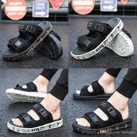 Wholesale beach sandals men sale - Hot Sale Brand designer Slippers Suicoke Sandals Fashion Man Women Lovers Visvim Summer Casual Shoes Slippers Beach Outdoor Slippers