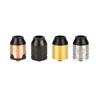 Wholesale liquid systems for sale - Group buy VGOD Elite RDA Dual Posts with mm Hole Huge Bottom Airflow System mm Deep Juice Well for ml Liquid Storage Original