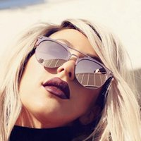 Wholesale trendy shades - Yaobo Trendy Female Fashion Aviator Sunglasses Ladies Pink Mirror 2018 un Glasses For Women Brand Designer Luxury Oculos Shades