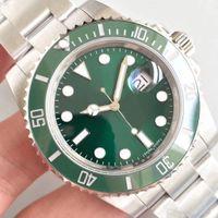Wholesale watch ro - AAA Quality RO Luxury Brand Green S-U-B 116610LV 40MM Automatic Movement Original sapphire Steel Mens Sports Watches