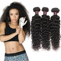 Wholesale Cheap Malaysian Curly - Good Quality Unprocessed Brazilian Deep Curly Virgin Human Hair 3Bundles Weave Wholesale Cheap Virgin Brazilian Deep Curly Hair Extensions