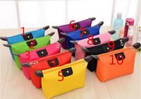 su geçirmez büyük kozmetik çantası toptan satış-Ücretsiz Kargo ePacket Yeni Büyük kapasiteli taşınabilir kozmetik çantası Bayan seyahat büyük yıkama çantası su geçirmez saklama çantası kozmetik durumda