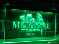 signos margaritaville al por mayor-LE110g- Jimmy Buffett Margaritaville LED Luz de neón