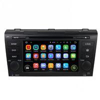 carro gps 2gb de bluetooth mp3 venda por atacado-Leitor de DVD Carro para Mazda 3 2004-2009 2 GB RAM 7 Polegada 8-core Andriod 6.0 com GPS, Bluetooth, Rádio