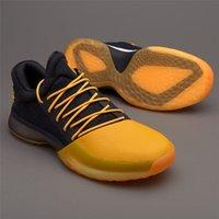 Wholesale shoes price boy - best price James Harden Vol.1 Black History Month White Orange Gold Men's Basketball Shoes Harden Low BHM Boys Grade Sneakers XZ23