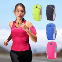 Wholesale neoprene running belt resale online - Waterproof Arm Belt Bag For iPhone X S Plus Samsung S8 S9 Plus Outdoor Running Sport Fanny Pack Pouch Water Resistant Phone Case