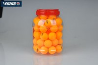 Wholesale table tennis balls stars resale online - WEING Star CM Table Tennis Balls Star New Material Star Seamed Balls Plastic Poly High qualityPong Balls balsl
