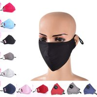 Wholesale red mouth mask resale online - 1 Anti Dust Cloth Cycling Face Mask Respirator with Filter Cloth Anti Dust Cotton Mouth Mask