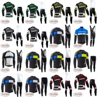 orbea fleece trikot groihandel-ORBEA Radfahren Winter-thermisches Vlies Jersey (bib) Hosen setzt Breath Hot New camisa de ciclismo Ropa Ciclismo D1209