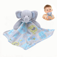 Wholesale doll 38 - Newborn Appease Towel Baby Bear Doll 0-2years Soothing Towels Cute Infant Blankie Plush Toys 38*38 cm Early Educational Clam Toy