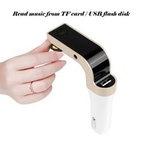 Wholesale 4 in Hands Free Wireless Bluetooth FM G7 Car MP3 Player SD USB Car Accessories