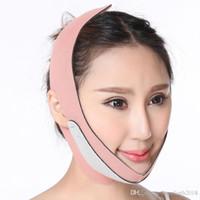 yüz yukarı kaldırma kayışı toptan satış-Hopeforth Yüz Lift Up Kemer İnce Yüz Maskesi Zayıflama Yüz Masajı Çift Çene redüktör Shaper Bandaj