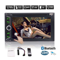 Wholesale Car Dvd Gps Navigation System - Stereo CD Car DVD Player 6.2''Double Din In Dash Car Radio Video Multimedia Player Navigator Bluetooth GPS Navigation System Remote&Map Card