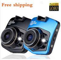 ingrosso blu trattino-Car DVR Full HD 1080P Videocamera veicolo Videoregistratore Dash Cam Parking Registratore Video Registrator Videocamera Night Vision Black Box