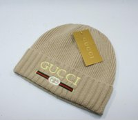 Wholesale f hats for sale - Group buy Popular luxury brands for men and women in autumn and winter casual knitted embroidered hats Street men s hip hop hats sports hats free of f