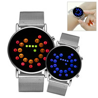 Wholesale Analog Timers - Sports New Roll Ball Analog Display Men Watches LED Watch Silver Alloy Clock Timer Men Women Boy Wristwatches