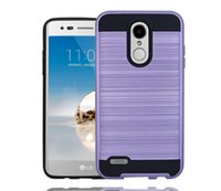Wholesale Zte Dual - Dual Layer Phone Case for iPhone X 8 Plus 7+ 6s Hybrid Armor Slim Protector Back Cover for Zte blade z982 Metropcs T-Mobile