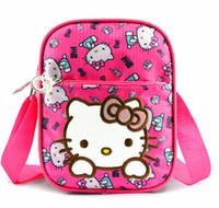 Wholesale kitty messenger bags online - Xingkings New Women Girl Hello kitty Bag Messenger bag Shoulder KX H1171