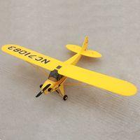 Wholesale Esc Brush Rc - Dynam 1250mm Piper J3 Cub RC PNP Propeller Plane W  Motor ESC Servos W O Battery