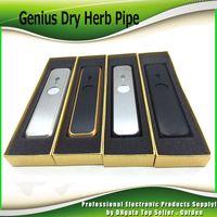 Wholesale Dry Sell - Hot Sell Genius Pipe Dry Herb Portable Pocket Kit Size Smoking Pipes Vape Pen Smoke Vaporizer Kits