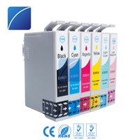 Wholesale ink for epson stylus - 6 Pack Ink Cartridges T0821-T0826 Compatible for Epson Stylus Photo TX700 TX800 TX710W TX650 TX810FW TX820FWD RX615 R270 R290 T50 T59