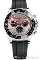 lunette en or blanc achat en gros de-Bracelet en caoutchouc de mode pour hommes 116519 LN Montre de luxe automatique Montre mécanique Montre en or blanc 18 carats Céramique Lunette Décontractée Montres pour reloj