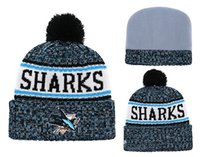 2019 New San Jose Sharks Embroidered Team Logo Sport All Teams Ice Hockey Vintage  Knitted Beanies Women s Winter Warm Skull Cuff Hats 90e539e5bfb8