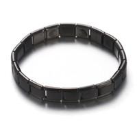 ingrosso braccialetti di salute all'ingrosso-Bio Energy Bracciale per donna acciaio inossidabile con germanio magnetico braccialetto salute polsino oro rosa / colore oro all'ingrosso di gioielli
