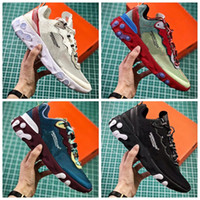 Wholesale women brand low shoes online - 2018 new UNDERCOVER x Upcoming React Element Pack white epic Sneakers brand Men Women Trainer Men Women designer Running Shoes zapatos