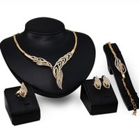 Wholesale natural earrings for women resale online - luxury jewelry designer jewelry set for wedding jewelry natural necklace bracelets earrings rings for women hot fashion