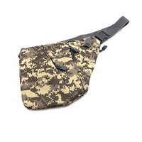 Wholesale tactical shoulder sling bags for sale - Group buy Multi functional Tactical Storage Personal Left or Right Shoulder Anti theft Bag Men s Chest Bag Slung Casual Sports Pocket