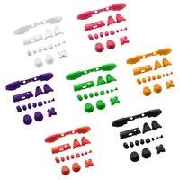 lb xbox venda por atacado-Lb rb lt r abxy botões botões de peças de reposição dpad para xbox 360 one slim controlador colorido conjuntos de botão completo kits de modificação