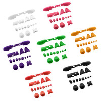 LB RB LT RT ABXY Triggers Buttons Dpad Replacement Parts for Xbox 360 one slim Controller colorful Full Button Sets Mod Kits