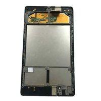 сенсорный экран для связи оптовых-Для ASUS Google Nexus 7 2nd 2013 FHD ME571 ME571K ME571KL K008 K009 сенсорный экран дигитайзер + ЖК - дисплей панель Ассамблеи + рамка