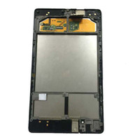сенсорный экран для связи оптовых-For ASUS Google Nexus 7 2nd 2013 FHD ME571 ME571K ME571KL K008 K009 Touch Screen Digitizer + LCD Display Panel Assembly + Frame