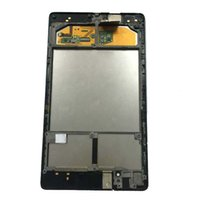 ingrosso asus pannello touch screen-Per ASUS Google Nexus 7 2nd 2013 FHD ME571 ME571K ME571KL K008 K009 Touch Screen Digitizer + Display LCD Panel Assembly + Frame