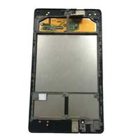 numériseur d'écran nexus lcd achat en gros de-Pour ASUS Google Nexus 7 2ème 2013 FHD ME571 ME571K ME571KL K008 K009 Écran Tactile Digitizer + Écran LCD Assemblage + Cadre