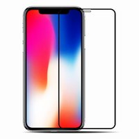 Wholesale apple print screen for sale - For iphone PLUS X XS XR XS MAX H Full Cover Colorful Tempered Glass Screen Protector Glue Silk Printed Glue P