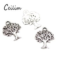 Wholesale Wholesale Silver Wire For Jewelry - Pick out different style charms hand & smile & tree of life charms for jewelry Findings fit DIY fashion adjustable expandable wire bracelets