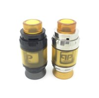 Wholesale best rta atomizer resale online - Best selling Juggerknot RTA Clone black silver replaceable Atomizers Top Airflow To Coil Design Postless Deck Pull Up Top Fill DHL Free