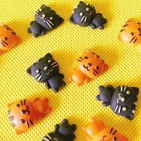 haus kekse großhandel-NEU ~ 10 Stück Katze Cookies / Miniaturen Essen / lieblich süß / Fee Gartenzwerg / Moos Terrarium Dekor / Bonsai / Figurine / Doll House Dekor