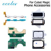 ingrosso cubot phone-obile Accessori per telefoni Cavi Flex Cellulari ocolor Per Cubot Magic Button Cavo Flex Power + Volume Button Speaker Earpieces USB plug ...