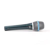 micrófono profesional portátil al por mayor-Beta 87 Micrófono Vocal Computadora de mano dinámica 87A Rendimiento legendario profesional 87 Un karaoke portátil Micrófono con caja minorista DHL gratis
