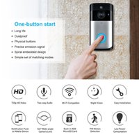 Wholesale door cameras monitor online - Smart WiFi Security DoorBell camera Visual Recording Low Power Consumption Remote Home Monitoring Night Vision Video Door Phone