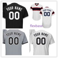 Wholesale Baby Blanks - Custom S-6XL Chicago CWS Baseball Jersey Blank Men Women Youth Kid Baby toddler Flexbase Cool Base Home Away All Stitched