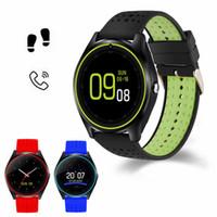 сим-карты удаленные устройства оптовых-Новый V9 Smart Watch для мужчин женщин с удаленной камерой Bluetooth SIM-карты сидячий напоминание сна монитор смарт-носимых устройств